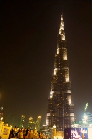 Burj Kalifa night